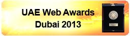 UAE Web Awards, Dubai 2013 #